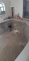 Скиммерный бассейн. Размер = 11,5 х 4,5 х 1,5-2,0 м. Адрес: г. Алматы, ул. Жамакаева. 39