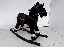 Музыкальная лошадка-качалка. Рассрочка. Kaspi RED