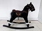Музыкальная лошадка-качалка, фото 5