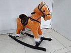 Музыкальная лошадка-качалка для детей, фото 5