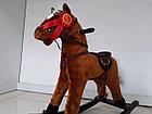 Лошадка-качалка для детей с мелодиями. Рассрочка. Kaspi RED., фото 3