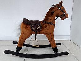 Лошадка-качалка для детей с мелодиями. Рассрочка. Kaspi RED.