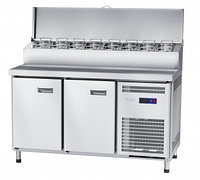 Стол холодильный для пиццы среднетемпературный СХС-70-01П t -2...+8 °С, фото 1