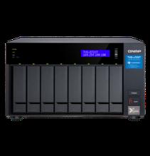 """QNAP TVS-872XT-i5-16G Сетевой RAID-накопитель, 8 отсеков 3,5""""/2,5"""", 2 слота M.2, 1 порт 10 GbE BASE-T"""