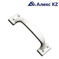 Ручка дверная-скоба РС-70 полимер серебро
