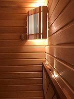 "Финская сауна в квартире. Размер = 2,0 х 1,6 х 2,1 м. Адрес: г. Алматы, ж.к. ""БАЙСАЛ"" 8"