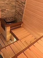 "Финская сауна в квартире. Размер = 2,0 х 1,6 х 2,1 м. Адрес: г. Алматы, ж.к. ""БАЙСАЛ"" 11"
