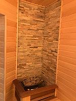 "Финская сауна в квартире. Размер = 2,0 х 1,6 х 2,1 м. Адрес: г. Алматы, ж.к. ""БАЙСАЛ"" 13"