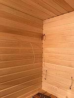 "Финская сауна в квартире. Размер = 2,0 х 1,6 х 2,1 м. Адрес: г. Алматы, ж.к. ""БАЙСАЛ"" 24"