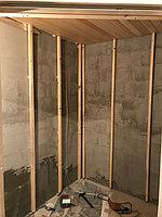 "Финская сауна в квартире. Размер = 2,0 х 1,6 х 2,1 м. Адрес: г. Алматы, ж.к. ""БАЙСАЛ"" 28"