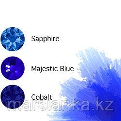 Swarovski Мини-микс омбре Blue, 30шт