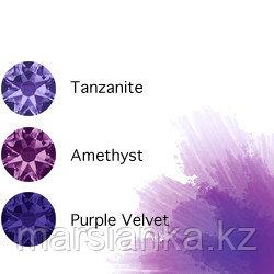Swarovski Мини-микс омбре Violet, 30шт