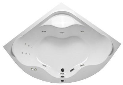 Акриловая гидромассажная ванна Афродита 150*150 см. 1 марка. Россия. Общий массаж, спина
