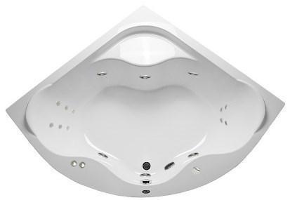 Акриловая гидромассажная ванна Афродита 150*150 см. 1 марка. Россия. Общий массаж, спина, ноги