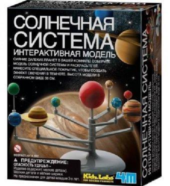 """Развивающий конструктор 4М """"Солнечная система"""""""