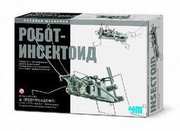 """Научный конструктор 4М """"Робот инсектоид"""""""