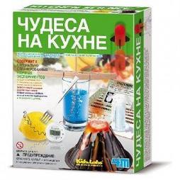 """Набор-конструктор для опытов """"Чудеса на кухне"""" 4М"""