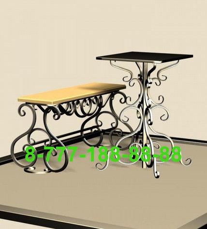 Стол и скамейка на кладбище №6, фото 2