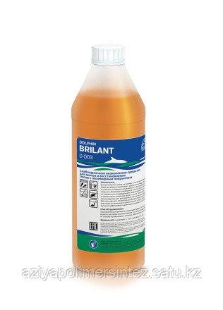 Средство для ухода за полами с полимерным покрытием - Dolphin Brilant 1 литр