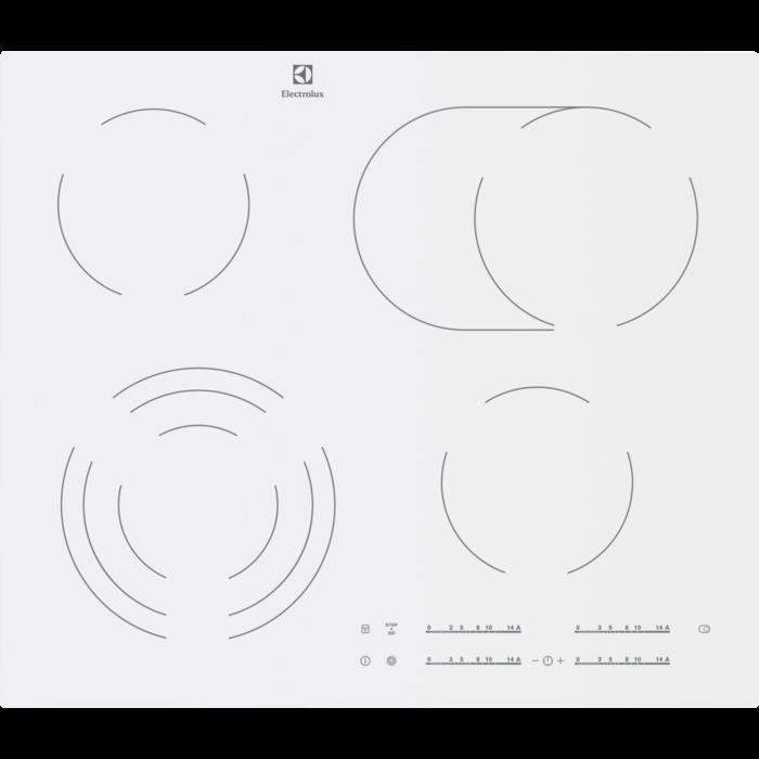 Встраиваемая поверхность Electrolux EHF96547SW