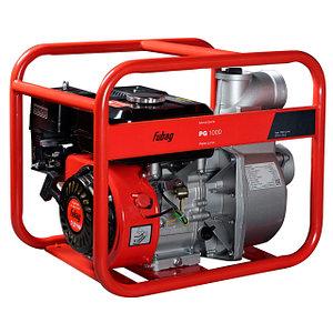 Мотопомпа бензиновая PG1000 c двигателем Fubag 1000 л/мин 28 м
