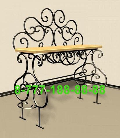 Стол и скамейка на кладбище №8, фото 2