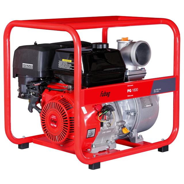 Мотопомпа бензиновая PG1600 c двигателем Fubag 1600 л/мин 30 м