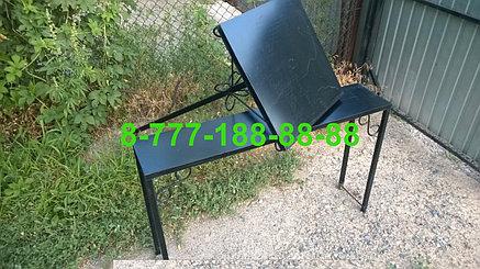 Стол и скамейка на кладбище №1, фото 2
