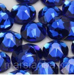 """Swarovski Capri Blue из """"Мегамикс №1"""", 90шт"""