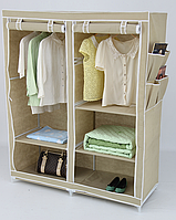 Шкаф тканевый для одежды 135x50x165 см, Youlite, фото 1