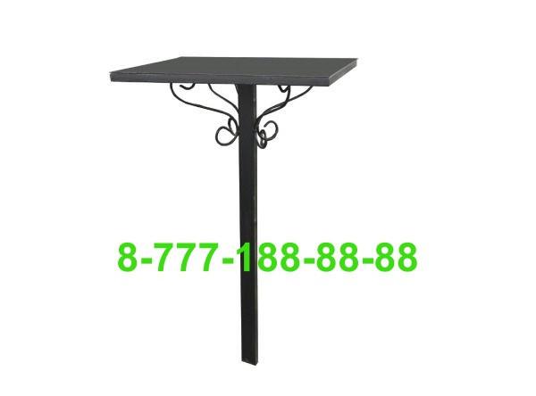 Стол и скамейка на кладбище №2