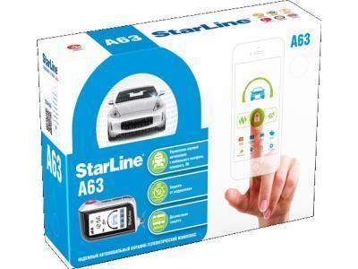 Автосигнализация StarLine A63 2CAN-2LIN Eco, фото 2