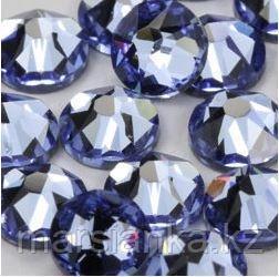 """Swarovski Light Sapphire из """"Мегамикс №2"""", 90шт"""