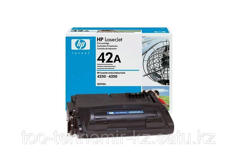 Картридж HP LJ 4250 (Q5942A) Оригинал