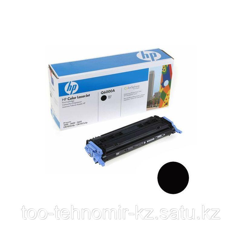 Картридж HP LJ Color 2600 (Bk) Q6000A