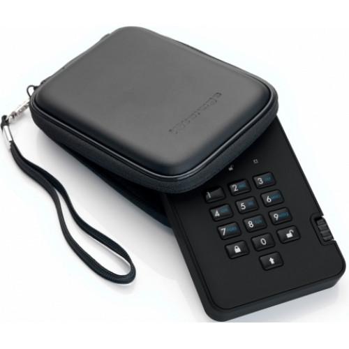 Жесткий диск с защитой и шифрованием данных DiskAshur2 HDD