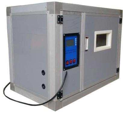 Внутреннего объема данного инкубатора, равного 0,49 кубического метра, достаточно для одновременного размещения до 176 куриных яиц