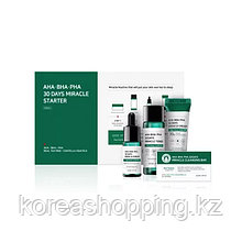 Набор для проблемной кожи с кислотами Some By Mi, AHA/BHA/PHA 30Days Miracle Starter Kit