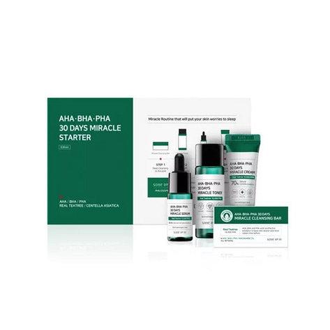 Набор для проблемной кожи с кислотами Some By Mi, AHA/BHA/PHA 30Days Miracle Starter Kit, фото 2