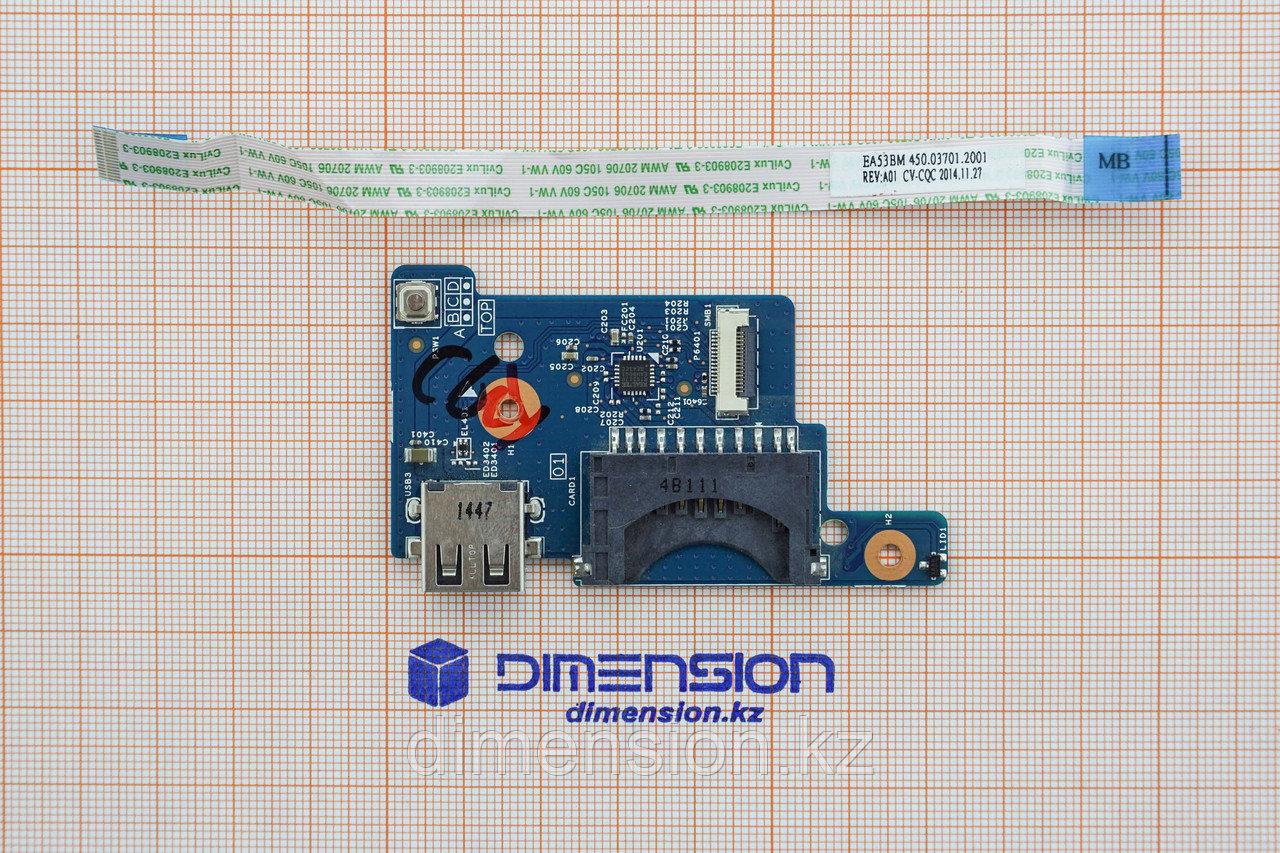 USB порт разъем плата включения ea53-bm eg52-bm для ACER Extensa 2508 ACER ES1-512