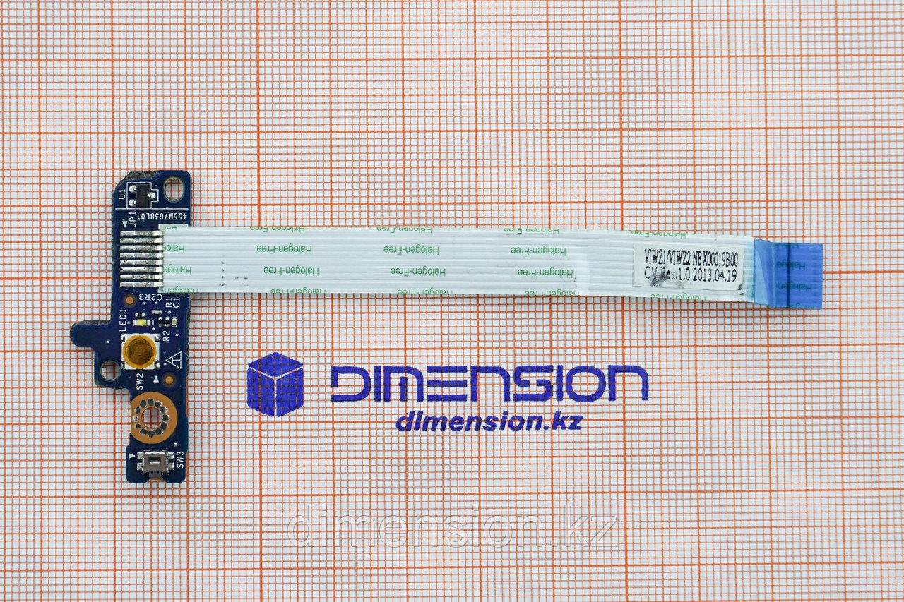 Кнопка, плата включения для LENOVO Ideapad Z500