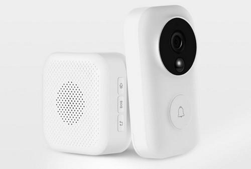 Умный видеодомофон Xiaomi Video Doorbell (Mijia AI Face Identification - фото 2