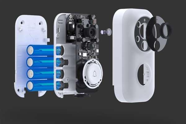 Умный видеодомофон Xiaomi Video Doorbell (Mijia AI Face Identification - фото 3