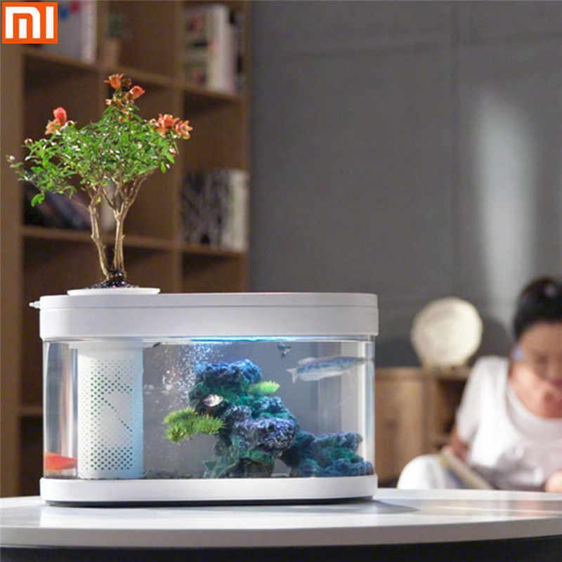 Аквариум Xiaomi Geometry Fish Tank Aquaponics Ecosystem