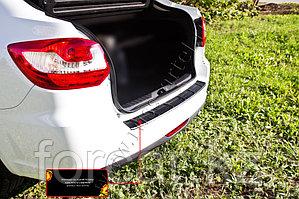 Накладка на задний бампер Lada Granta лифтбек 2014-