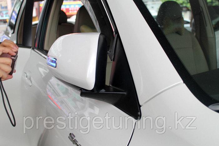 Корпуса зеркал крашенные с автоскладыванием для Toyota Highlander 2011-13
