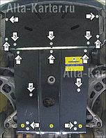 Защита картера двигателя и кпп  BMW 3-серия E46 1998-2001