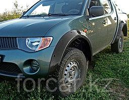 Расширители колесных арок широкие 90 мм Mitsubishi L200 2007-2013