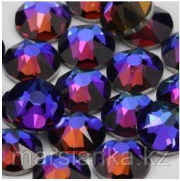 "Swarovski Crystal Meridian Blue из ""Мегамикс №4"", 90шт"