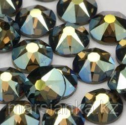 "Swarovski Crystal Iridescent Green из ""Мегамикс №4"", 90шт"